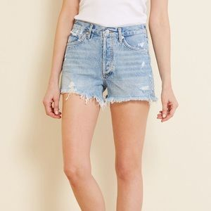 Agolde Parker vintage high rise shorts